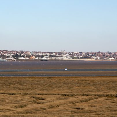Mainland from Canvey Heights   Carol McCracken