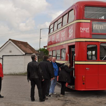 All aboard the big red bus | (c) Dave Bullock