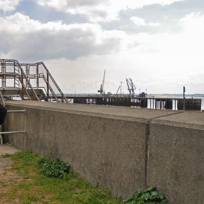 Chris Fenwick 'down by the jetty' | (c) Dave Bullock