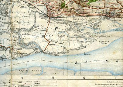 1909 OS Map