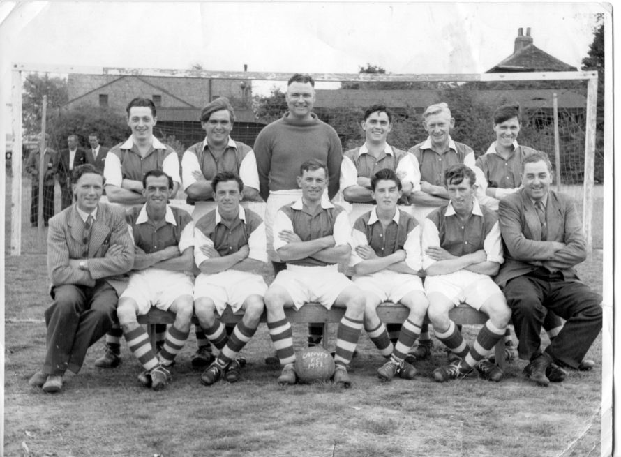 A Canvey football team from the past.