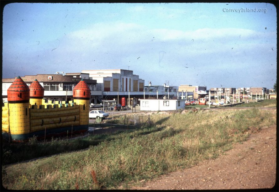 c1980: View of the Casino which has since been demolished. On the left is the Monico and between the buildings you can see the stairs leading to the Casino Snooker Club of which I was a member. To the right are the original toilets & seating, also since demolished. | (c) David Bullock