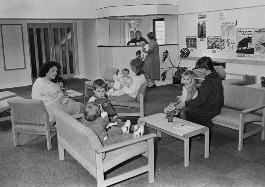 Mothers and toddlers using the coffee bar   Echo Newspaper Group