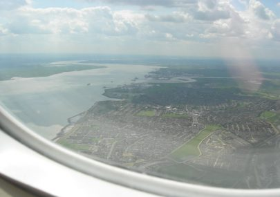 Canvey Island from above