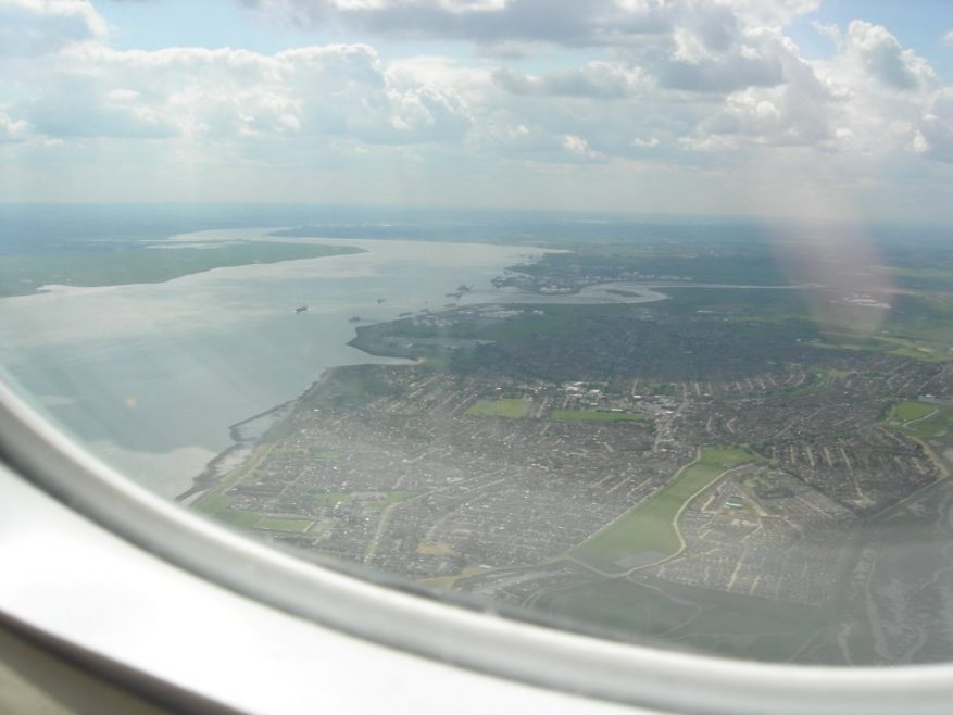 Canvey from the air taken June 14th 2008 | Janet Penn