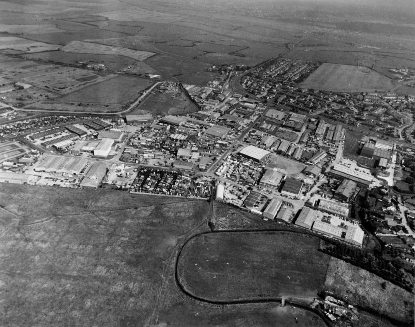 Charfleets Industrial and Housing Estate 1992 | Echo Newspaper Group