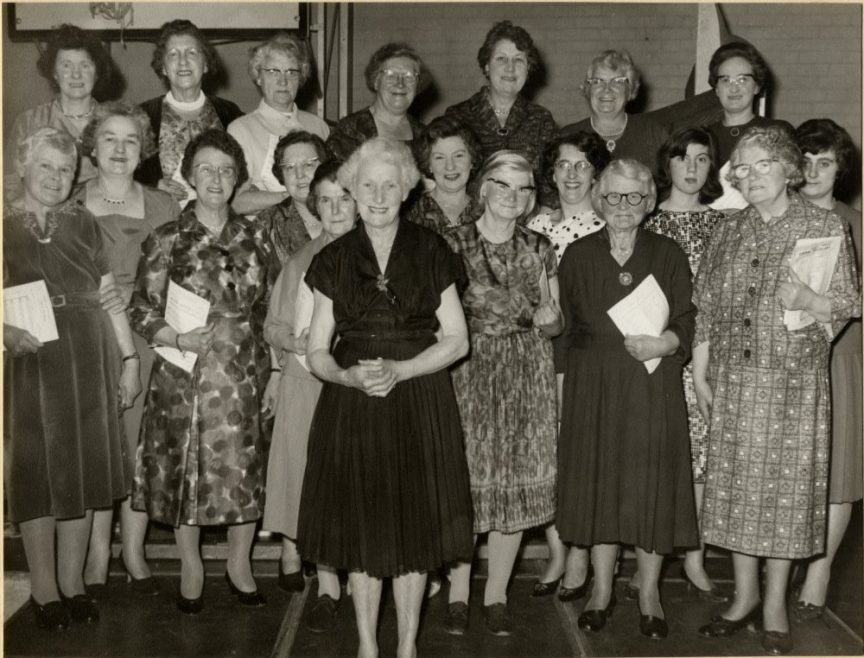 Whittier Hall Choir c1960 | Stevens Graham