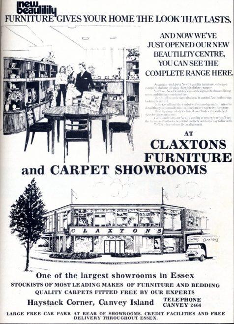 Claxton's Advert