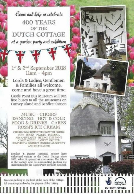400th Anniversary Dutch Cottage
