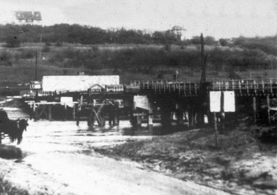 1931 Bridge Under Construction