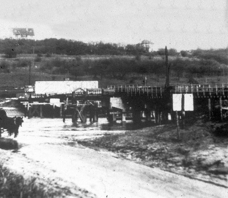 1931 Bridge Under Construction