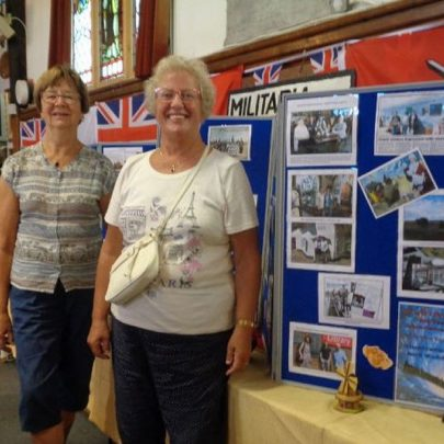 Nellie and Janet also visited the Heritage Centre to see our display and catch up with our chair Janet Walden   J Dolling
