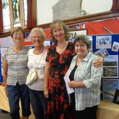Nellie, Janet, Janet Walden and Sue   J Dolling