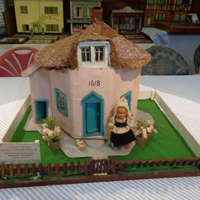 The model Dutch Cottage in the Heritage Centre   J Dolling