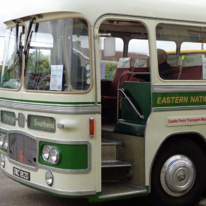 The classic bus used for the bygone Canvey guided tour. | J.Walden