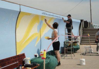 Mural Panel ten