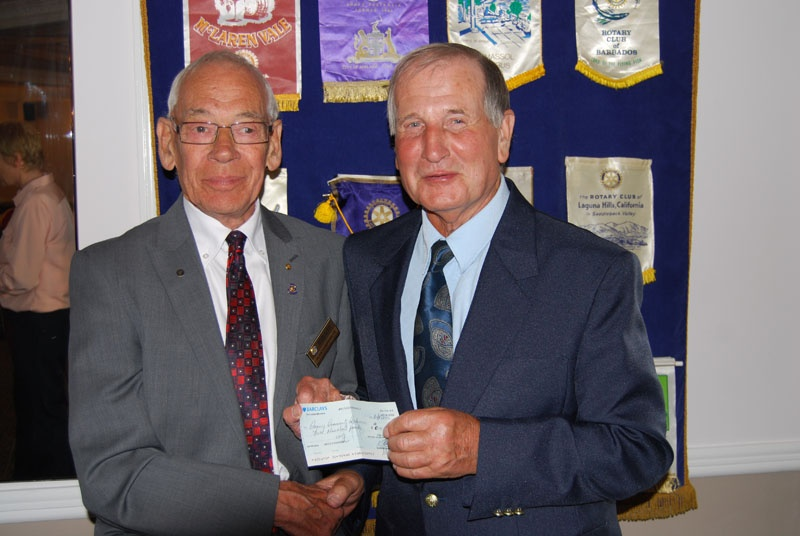 Alan Humphreys of Canvey Rotary and Graham Stevens of CCA | Canvey Rotary