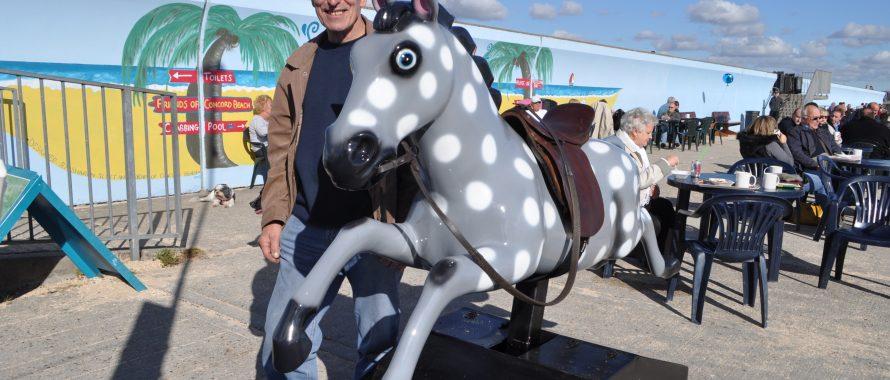 Silver the Casino Horse
