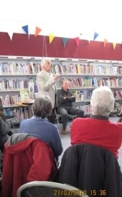 Alan Whitcomb at Canvey Library