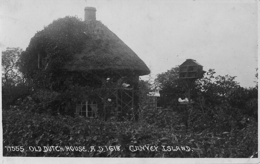 Dutch Cottage, near Northwick Corner - now the Museum; must be a view from the North side | Michael and Lin Swanson