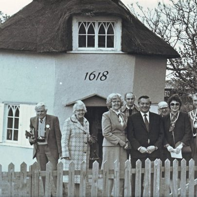 The guests from the ceremony at the Paddocks were taken on a trip to the Dutch Cottage