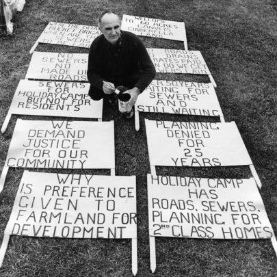 1970s demonstration   Echo Newspaper Group