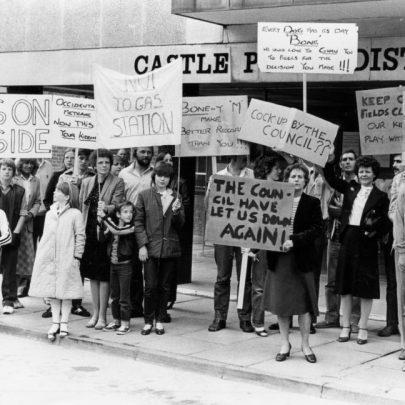 1980s demo   Echo Newspaper Group