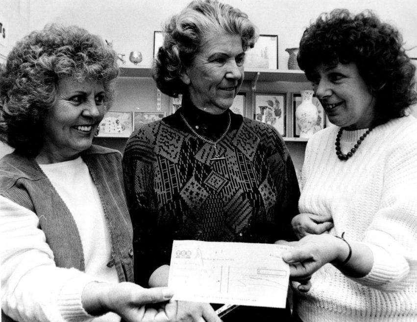 Cheque Presentation 1987 | Echo Newspaper Group