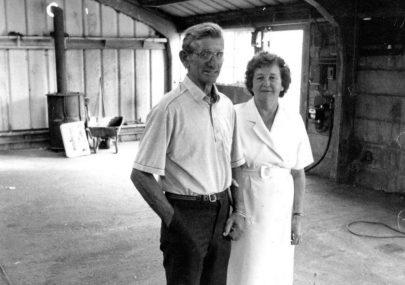 Joan and Geoff Lythgo