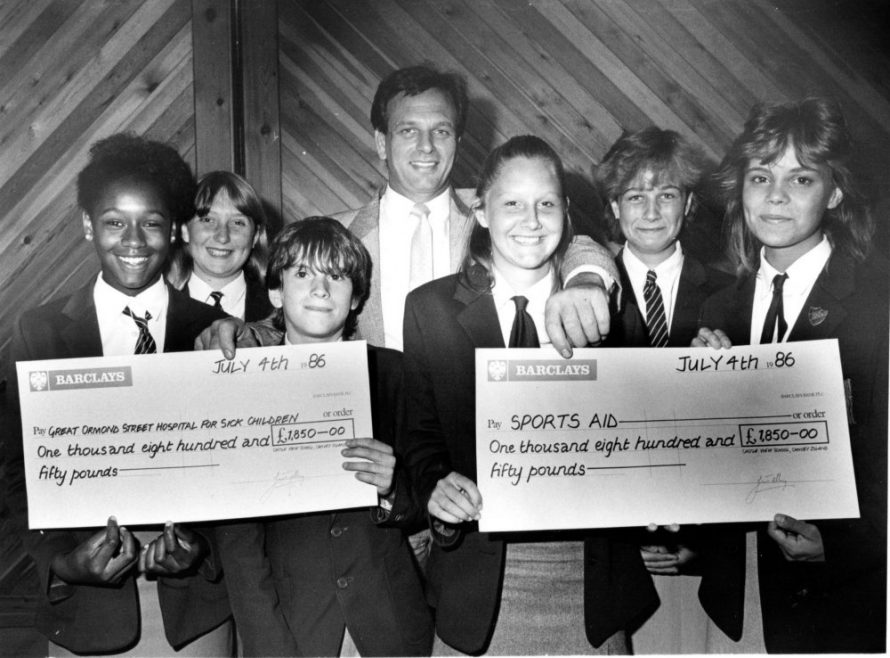 l-r Candace Moses, Sarah Vaughan, Colin Leech, Kevin Gregory, Colette Harker, Emma Senior and Suzanne Oliver. | Echo Newspaper Archive