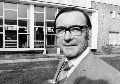 Head Furtherwick Park School 1973