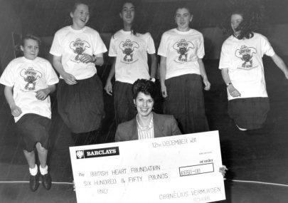 Cheque Presentation 1991