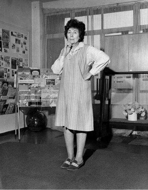 Head Teacher Canvey Infants 1973   Echo Newspaper Archive