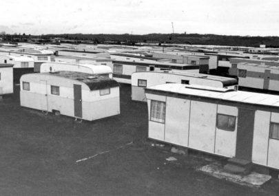 Caravans at Newlands Camp