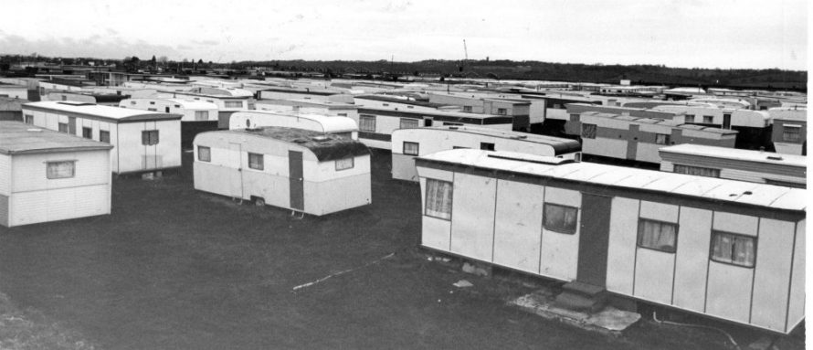 Caravans at Newlands Camp | Echo Newspaper Archive
