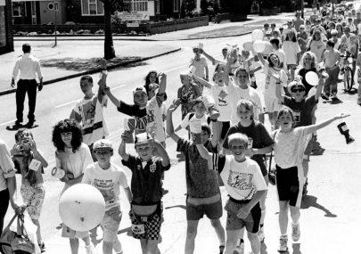 Sponsored Walk 1990