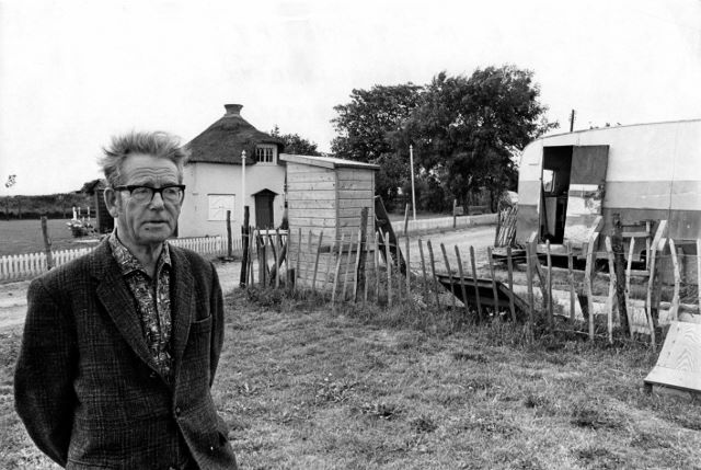 Charles with the Dutch Cottage Museum in the background. | Echo Newspaper Group