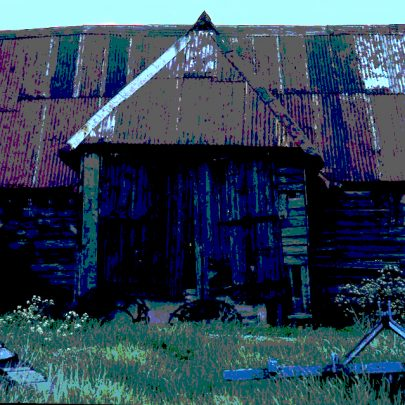 Just for David Lazell another image of the barn. | © Robert Hallmann