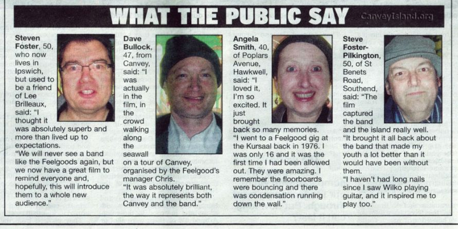 Spot the dodgy looking character!   (c) Castle Point Evening Echo 4th Feb 2010