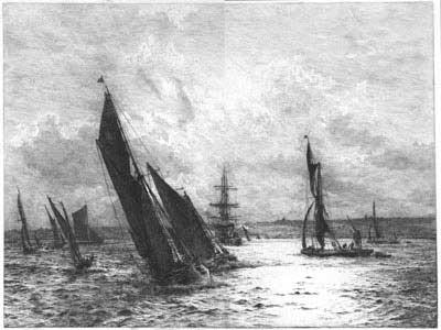 The Thames   W L Wyllie