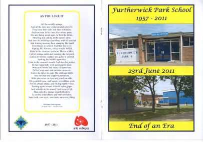 Furtherwick Park School 2011