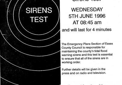Flood Warning Sirens