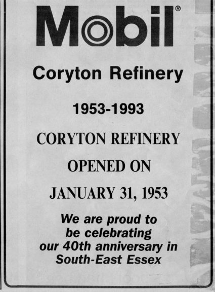 coryton celebration. | Courtesy of Castlepoint Transport Museum