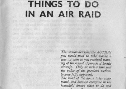 In the Event of an Air Raid Part 3