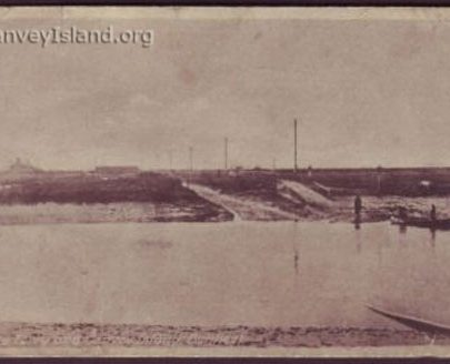 View of Canvey over the crossing | David Bullock