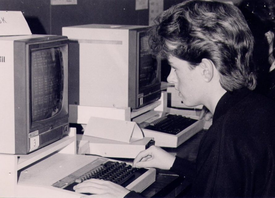 Computers arrive at Furtherwick