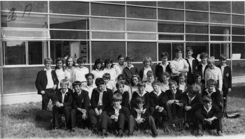 Form 1A 1968 Mr Des Francis' class. | Janet Dolling
