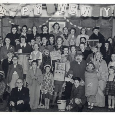 Fancy Dress New Year Social probably 1953 | Stevens Graham