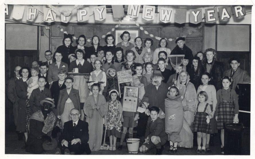 Fancy Dress New Year Social probably 1953 | Stevens Graham