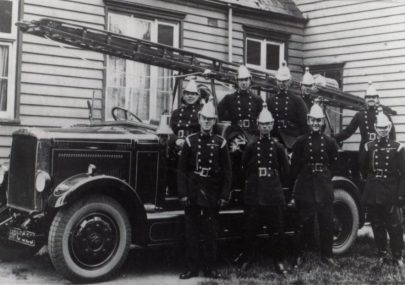 Canvey's First Fire Brigade